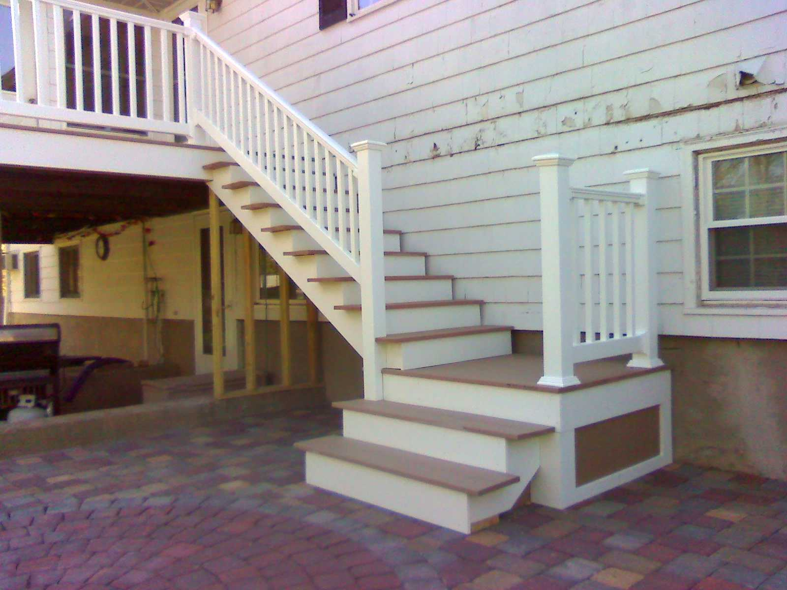 Building Deck Stairs With Multiple Landings Photos Freezer And