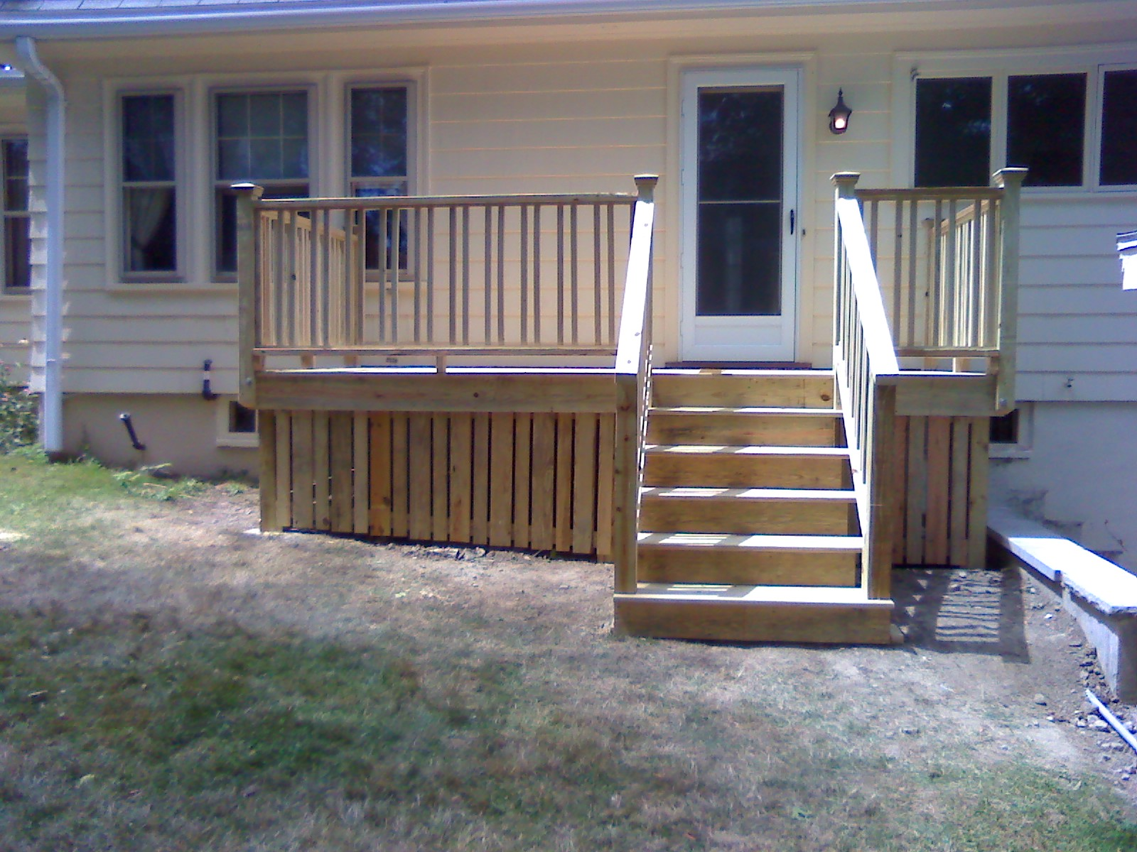 Justdecksmass middlesex county and north of boston ma pressure treated deck baanklon Image collections
