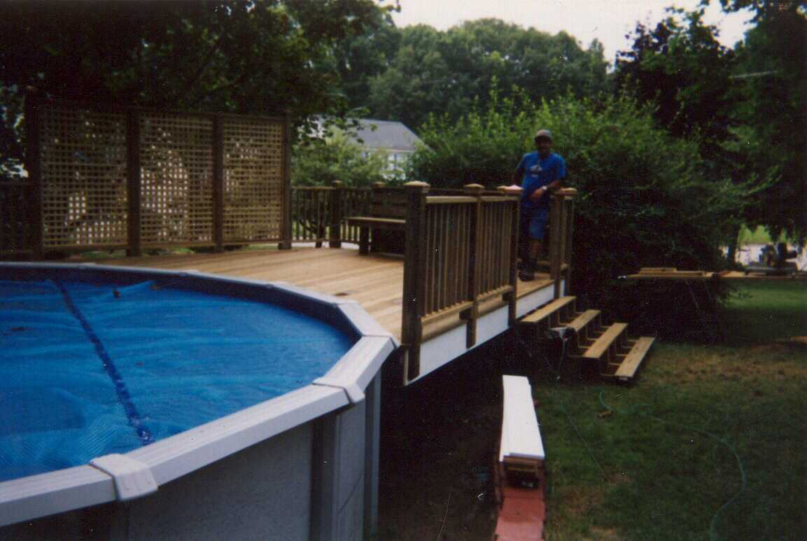 above ground pool privacy panels round designs - Above Ground Pool Privacy Screen